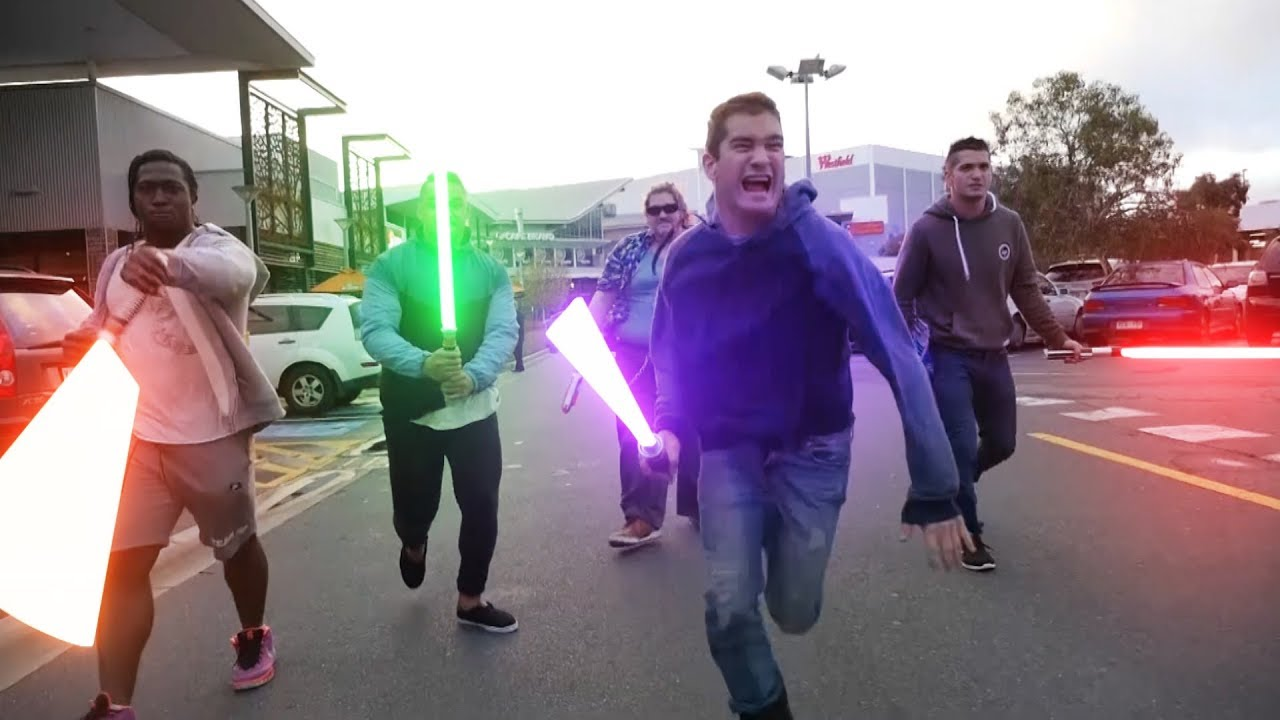 STAR WARS in Public