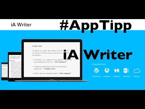 #AppTipp: iA Writer, mein Schreibwerkzeug auf dem iPad Pro