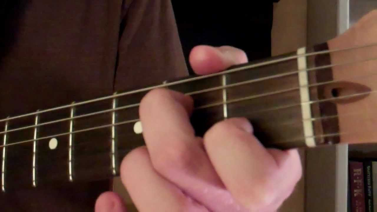 How To Play The A Minor Seven 7 Chord On Guitar Am7 Youtube