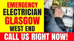 emergency electrician glasgow west end