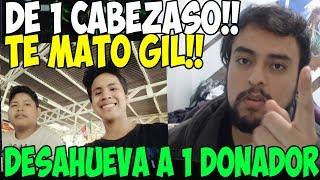 IWO DESAHUEVA A SU DONADOR QUE SE PONE FALTOSO