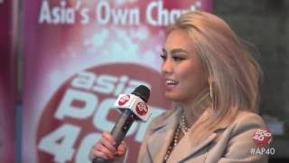 AGNEZ MO full length interview on Asia Pop 40