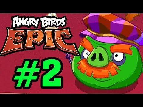 ANGRY BIRDS EPIC - Đánh Bại Hoàng Tử Lợn Giành Lại Trứng Chim Tập 2