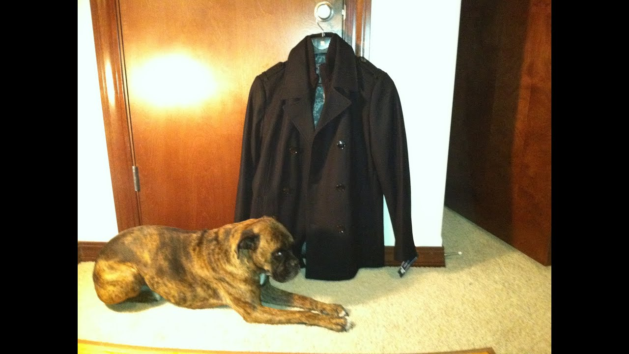 Kenneth Cole Reaction Men S Pea Coat With Bib Review