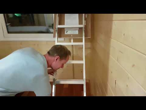 Loft with Folding Stairs for storage or sleeping | Granny Flat Cyprus