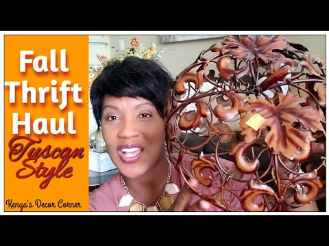 Fall Decor Thrift Haul | Collab Open Invitation | Vlogust/VEDA Day 21