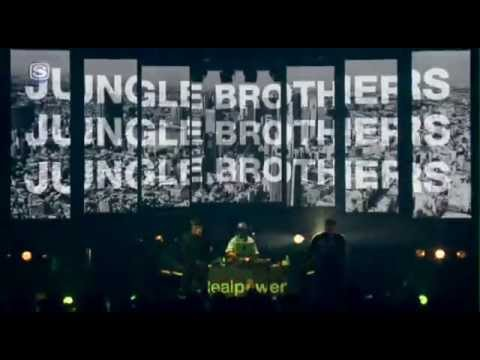 JUNGLE BROTHERS PERFORMING LIVE IN TOKYO, JAPAN