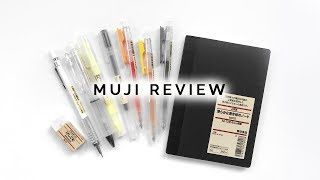 Muji Stationery Review & Alternatives