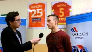 Wywiad z Mateuszem Kupczakiem - piłkarzem klubu Termalica Bruk-Bet Nieciecza