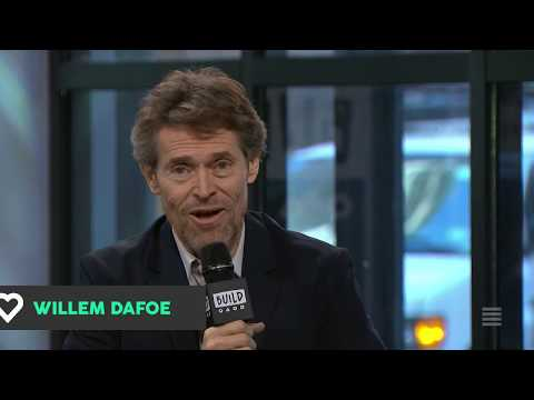 "Willem Dafoe Discusses His New Film, ""The Florida Project"""