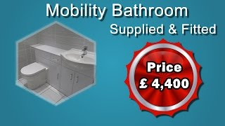 Mobility Bathroom Supplied and Fitted £4,400 From Coventry Bathrooms