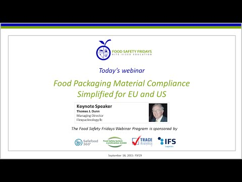 Food Packaging Material Compliance Simplified for EU and US