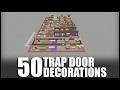 50 Secret Decorations in Minecraft