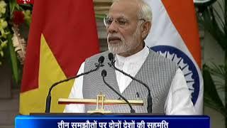 भारत और वियतनाम के बीच अर्थ, कृषि समेत तीन क्षेत्रों में समझौते