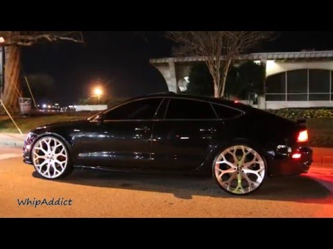 "WhipAddict: 2013 Audi A7 on brushed 24"" Drea Monoblock Forgiatos, Atlanta, GA"