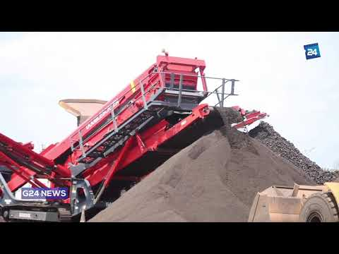 GABON : ECONOMY  MANGANESE PRODUCTION SHOWS INCREASE OF 23% BETWEEN 2016 AND 2018