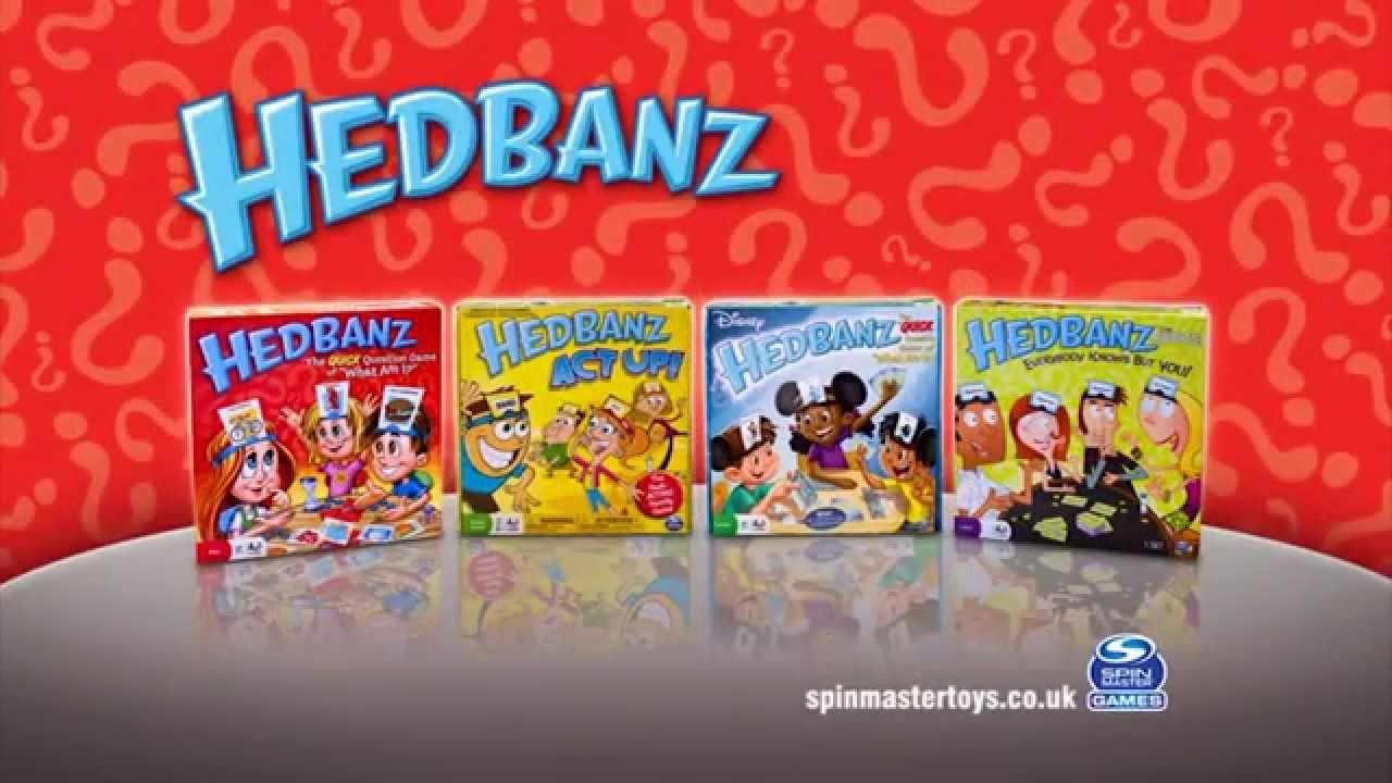 HedBanz Classic Original TV Commercial – ToySeek