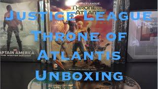 Justice League Throne of Atlantis Steelbook Unboxing