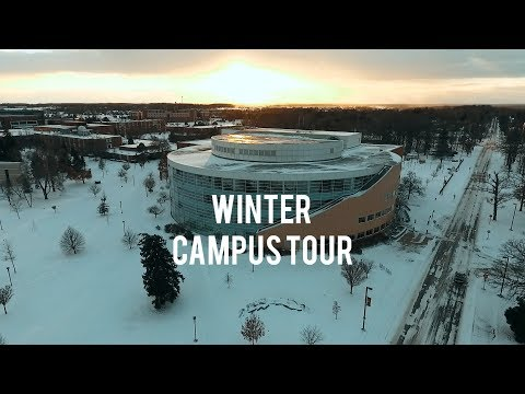 Winter Campus Tour | Central Michigan University