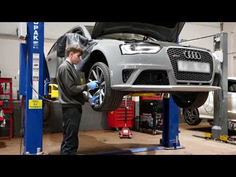 Audi Technik Centre – Tyre Check