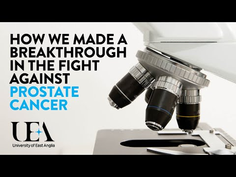 UEA Makes Breakthrough in Prostate Cancer Research