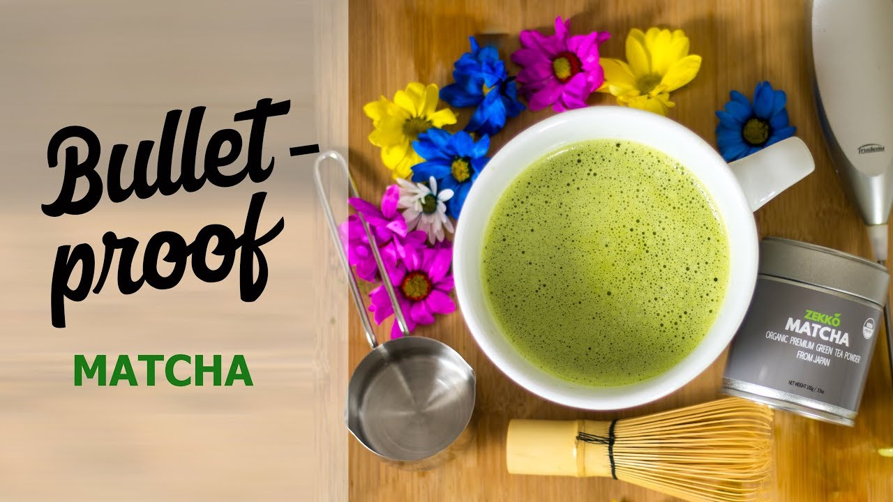 Bulletproof Matcha Green Tea Perfect For The Keto T And Intermittent Fasting