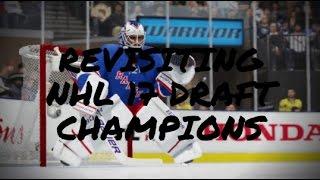 "NHL 17 DRAFT CHAMPIONS - ""BROKEN"" PROMISES, 100% FAILED MODE"