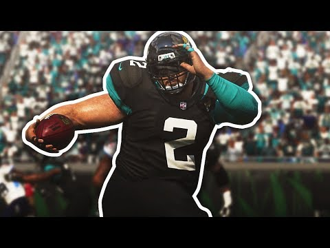 INSANE 1 HANDED CATCH!! THE 400 POUNDER DOES IT AGAIN  MADDEN 19 CAREER MODE EPISODE 4