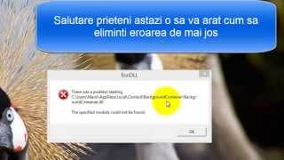rundll error fix windows 8.1(100% working After that run the three utilities if not go above presentation AdwCleaner http://www.bleepingcomputer.com/download/adwcleaner/ JRT ..., 2014-03-09T12:15:50.000Z)