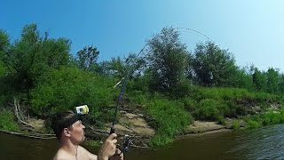 Рыбалка на Новом Месте, Ловля Хищника Спиннингом, Рыбалка с Дмитрием Солоницыным - MF №69