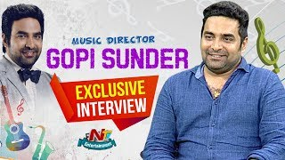 Music Director Gopi Sundar Exclusive Interview | Geetha Govindam | Inkem Inkem | NTV ENT
