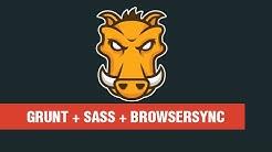 WEB TUTORIAL | Crashkurs GRUNT + SASS + BrowserSync [German / Deutsch]