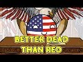 Better dead than red | Hungary and Romania - Countryballs