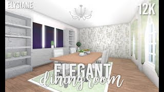 ROBLOX   Bloxburg: Elegant Dining Room