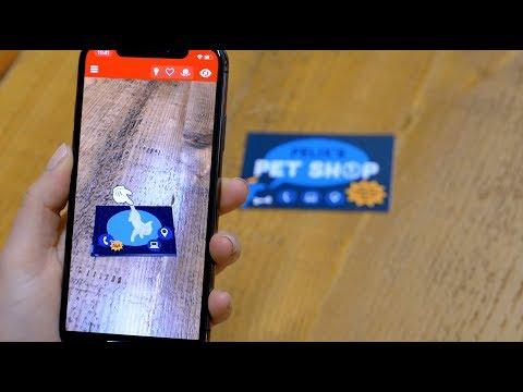 Access youtube creating an augmented reality business card with zapworks studio reheart Choice Image