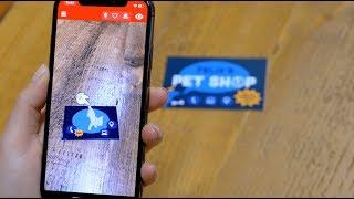 Erstellung einer Augmented Reality Visitenkarte mit ZapWorks Studio