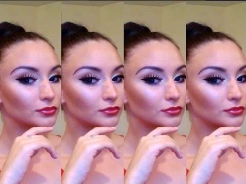 Make-up for dancesport competition just in 7 minutes by Sharanova Ekaterina