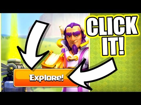 WHATS HAPPENS IF YOU CLICK THIS BUTTON IN CLASH OF CLANS!? - NEW TAB ADDED!