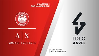 AX Armani Exchange - LDLC ASVEL Villeurbanne Highlights | Turkish Airlines EuroLeague, RS Round 2