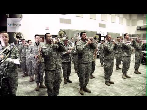 The Star-Spangled Banner - Oregon National Guard Band plays the U.S. National Anthem