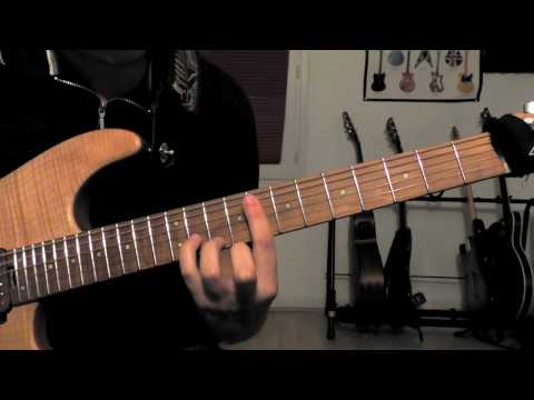 Eric Johnson - Cliffs of Dover : intro Chord cover w/tab (Live from Austin)