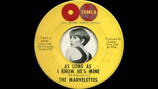 The Marvelettes - As long as I know he