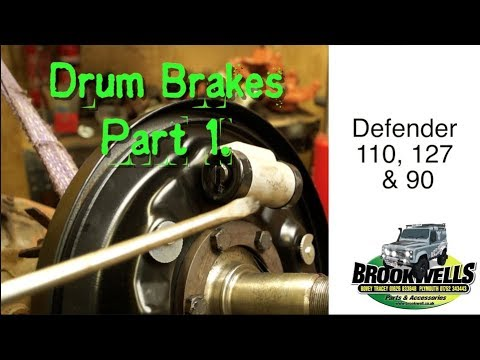land rover brakes diagram land rover drum brake overhaul part 1 introduction to leading and  land rover drum brake overhaul part 1