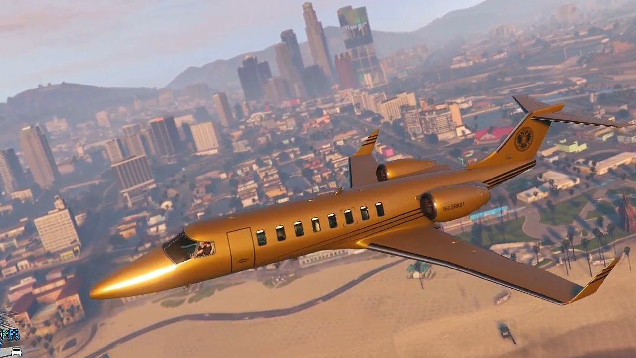 Extrêmement Grand Theft Auto 5 Multiplayer - $10 MILLION GOLD JET! (GTA Online  RW07