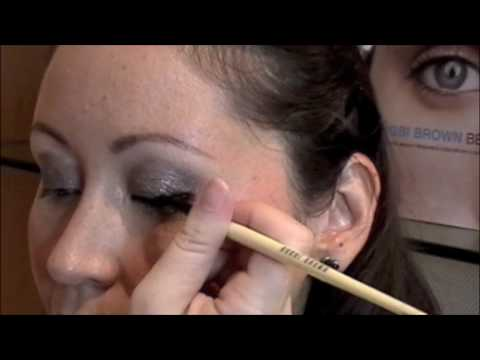 Bobbi Brown Metallic Long-Wear Cream Shadows makeup lesson by Education Exec Katrina Rau