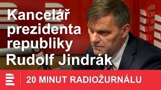 Rudolf Jindrák: Velvyslankyně ve Vídni měla dát prezidentovi přesnější informaci