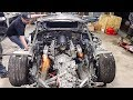 LS V8 Swapped Huracan FIRST START UP!
