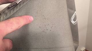 How to Easily Remove Mold / Mildew Stains on Stroller Textiles in a Washing Machine