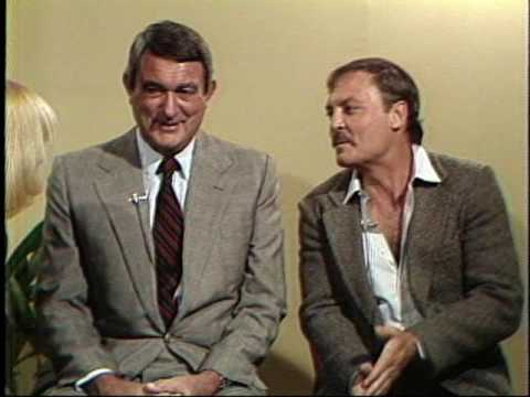 with Andrew V. McLaglen and Stacy Keach