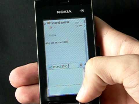 Nokia 5250 - zprávy a kontakty